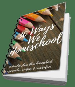30 Ways We Homeschool eBook spiral