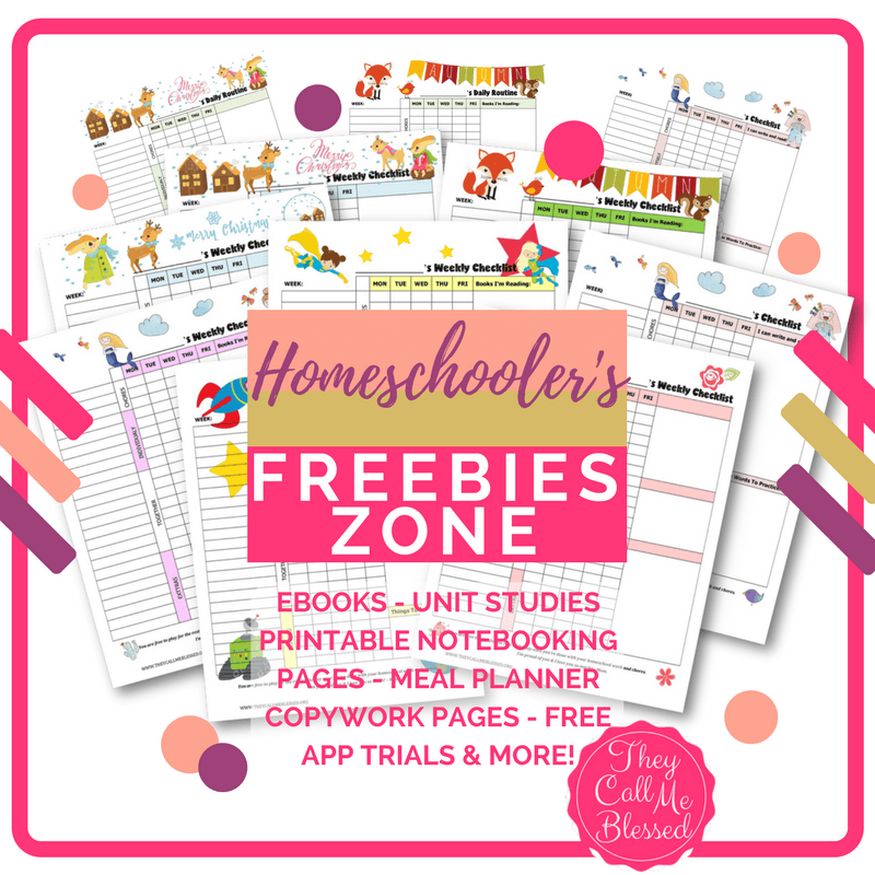 homeschool freebies zone hundreds of free homeschool resources