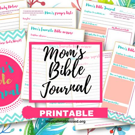 Mom's Bible Journal Printable