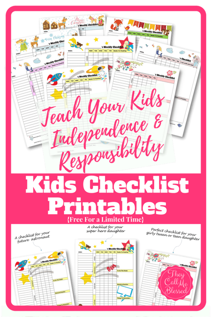 Teach kids independence: FREE Printable Routine Checklist Templates to help your kids learn independence and responsibility. | Free chores & homeschool checklist | Free homeschool checklist | Free chores checklist | Free chores printables | Free homeschool printables | Kids checklist | Kids checklist printables | Kids checklist daily routine | Kids homeschool checklist | Chores checklist for kids | Chores checklist printables | Kids weekly schedule | Kids weekly planner | Kids' Checklist Printables | Motivate Your Child