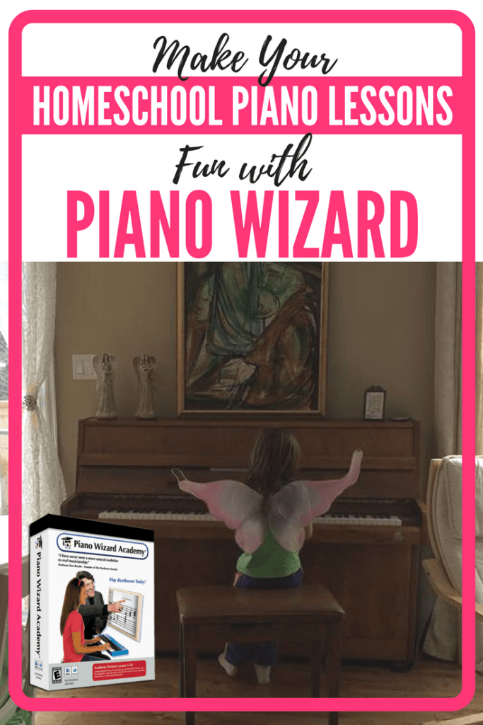 Make Your Homeschool Piano Lessons Fun with Piano Wizard - A Piano Wizard Honest Review