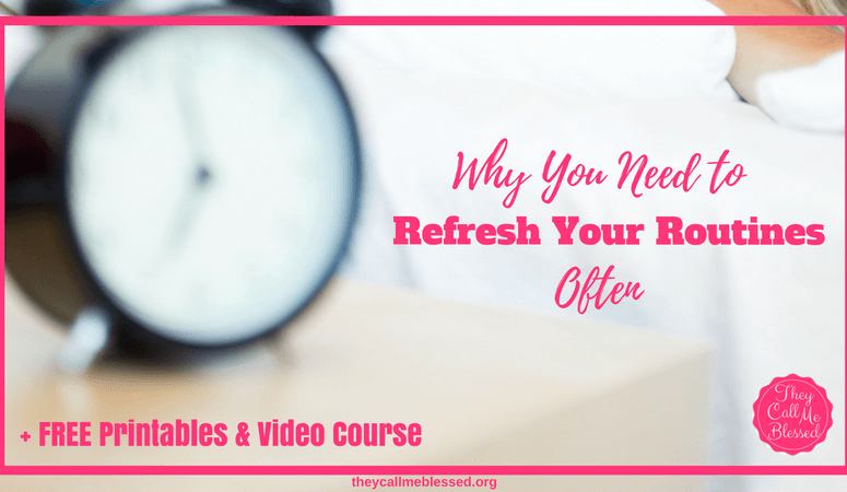 Why You Need To Refresh Your Routines Often