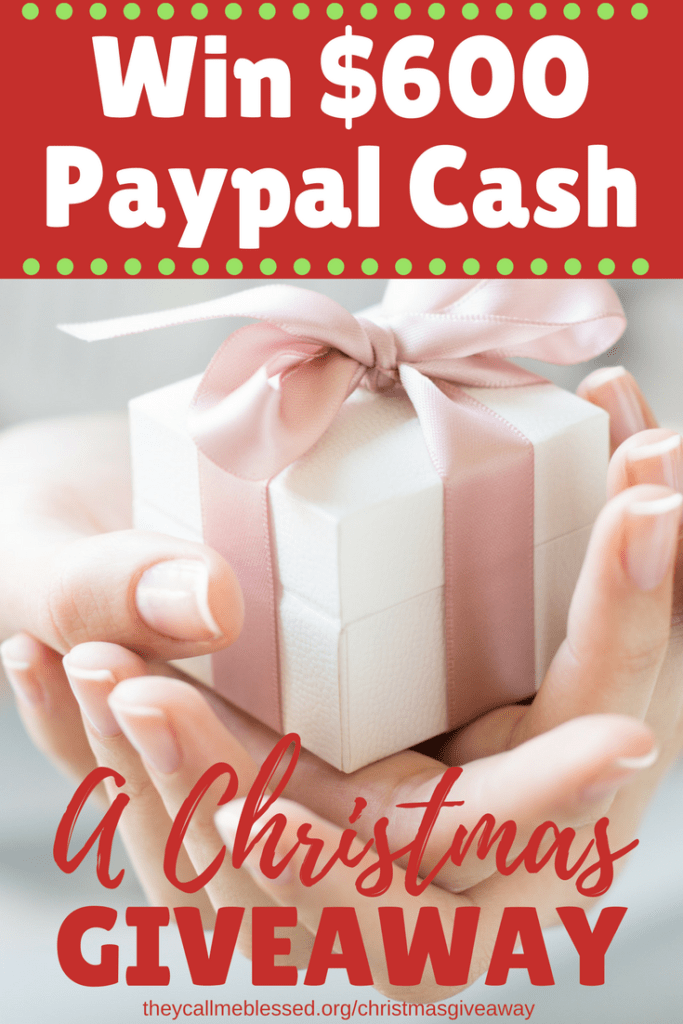 Christ-Centered Christmas Giveaway $600 Paypal Cash