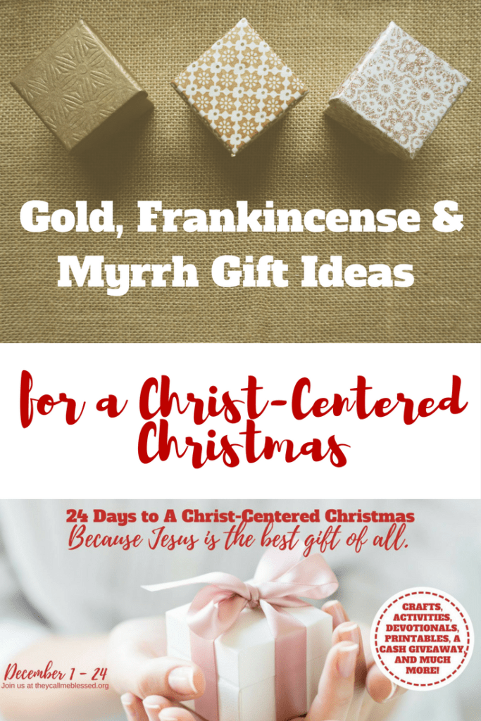 Gold Frankincense And Myrrh Christmas Gifts.Gold Frankincense And Myrrh Christ Centered Christmas Gift