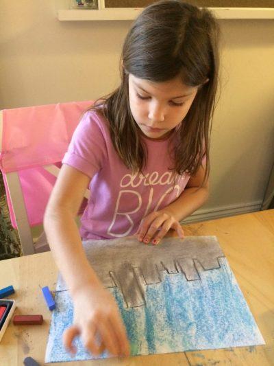 Digital Charlotte Mason Education: Chalk Pastel Art Lesson