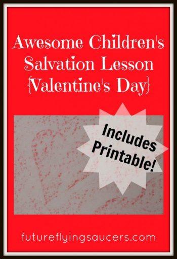 Teach Kids True Love on Valentin'es Day + FREE True Love Scripture Verses Printable