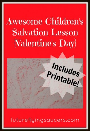 Teach Kids True Love on Valentin'es Day + FREE True Love Scripture Verses Printable
