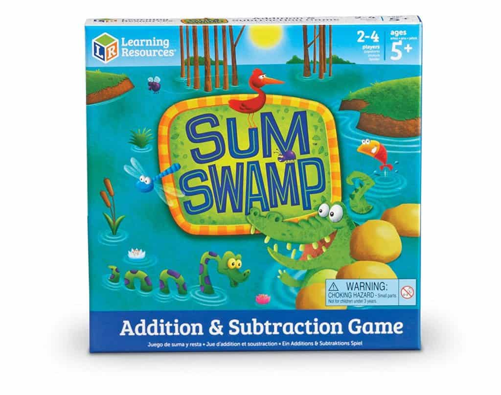 Homeschool Math: Sum Swamp Addition & Subtraction Game
