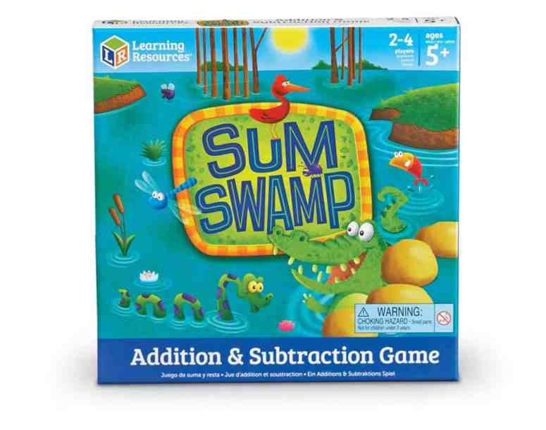 Homeschool Math: Sum Swamp Addition & Subtraction Game
