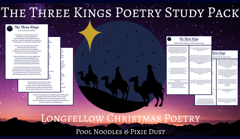 Nativity Poetry Study {Free Printable}