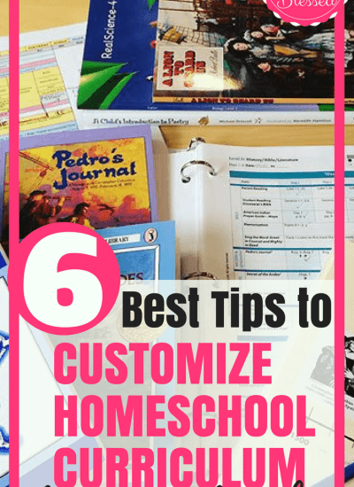 How to Customize Homeschool Curriculum for Your Family