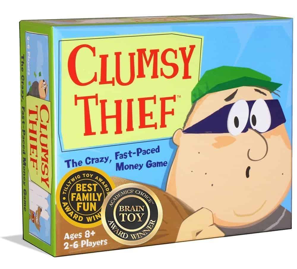Homeschool Math Games: Clumsy Thief Math Game