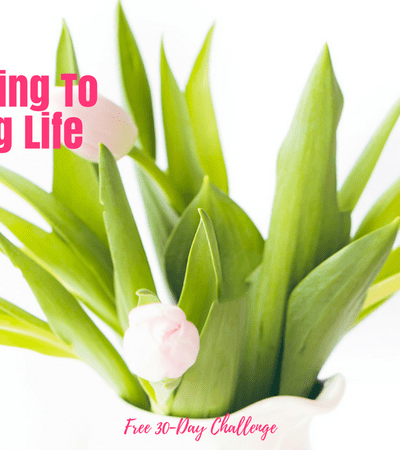 How to Go From Existing To Truly Living Life