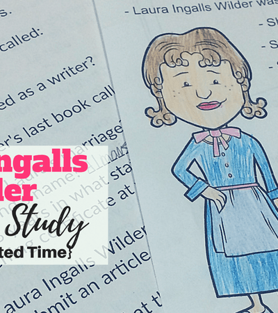 Laura Ingalls Wilder Unit Study {Free for Limited Time}