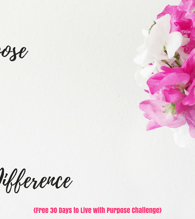 Your Purpose Doesn't Have To Be Huge To Make A Difference