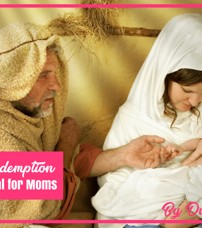 Treasured Redemption: A Christmas Devotional for Moms