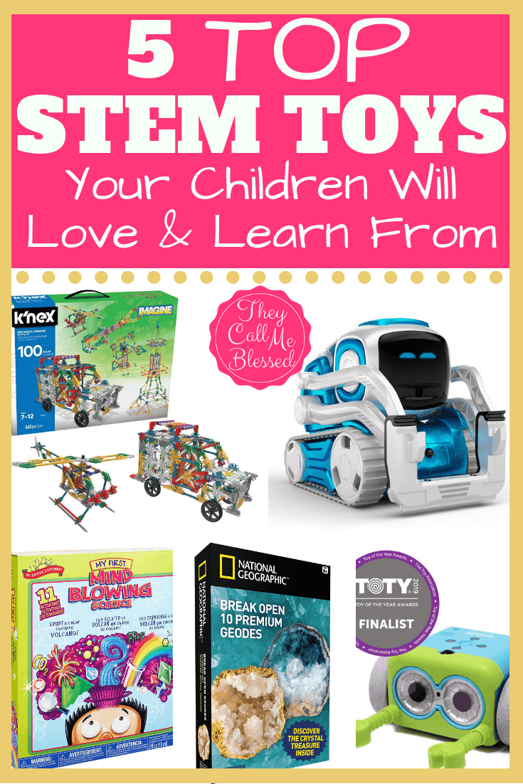 5 Top STEM Toys Children Will Love and Learn From