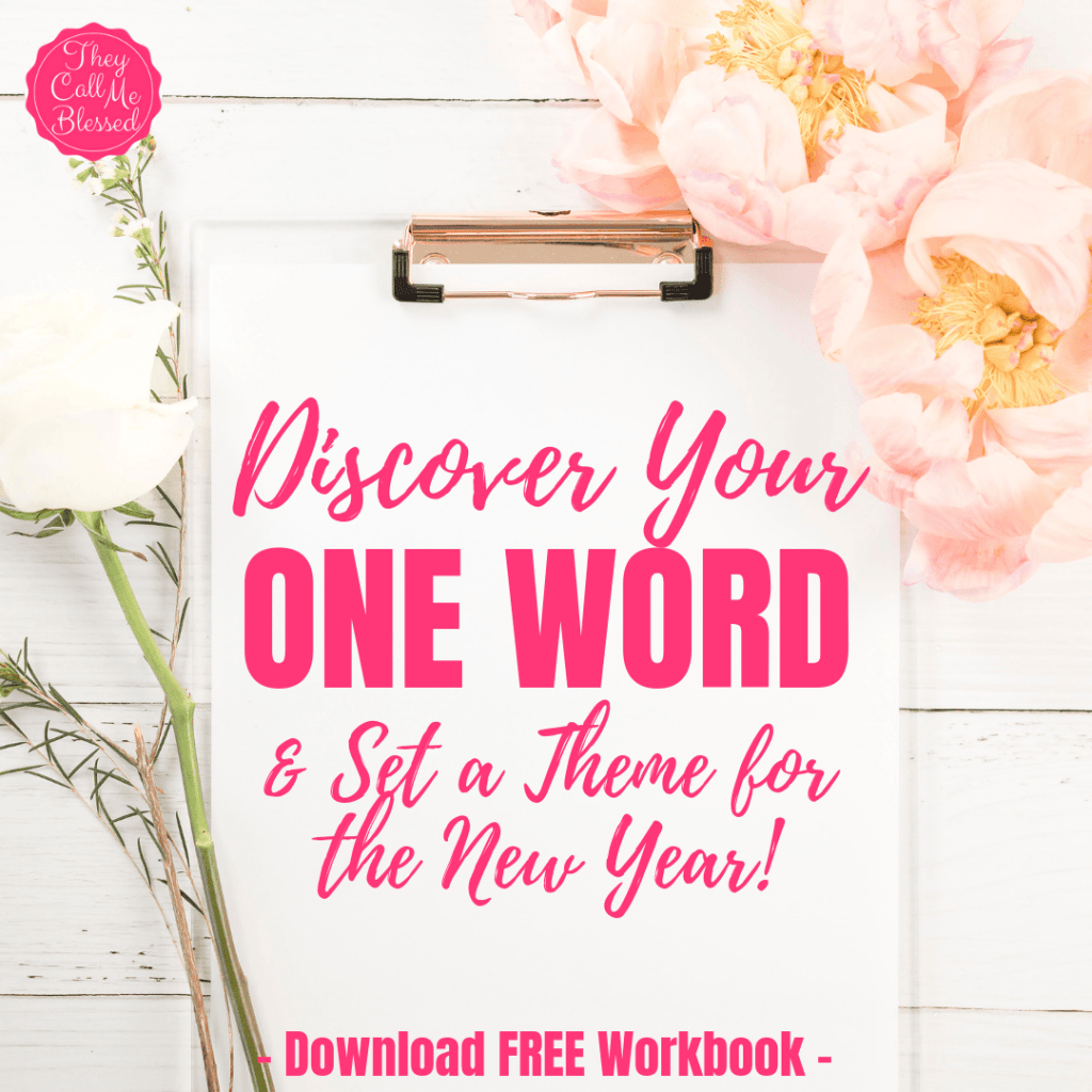 Discover Your One Word & Theme For The New Year