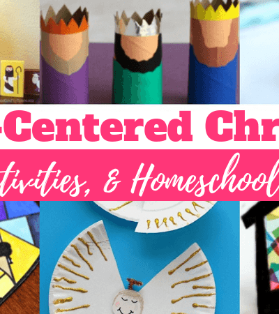 30+ Awesome Christ-Centered Christmas Crafts To Help Kids Focus on Jesus