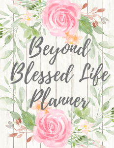 NEW Beyond Blessed Life Planner Extra Covers & Bonus Pages