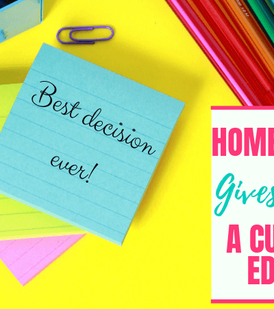 Homeschooling Gives Our Kids a Custom Fit Education