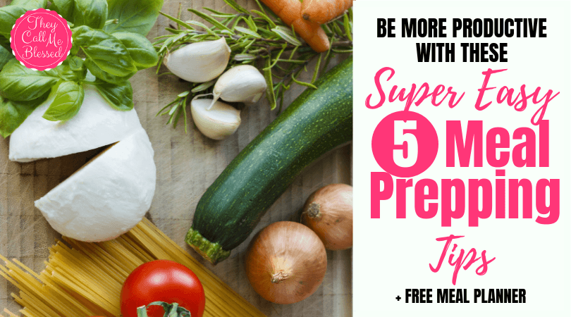 How To Be More Productive With These 5 Super Easy Meal Prepping Tips