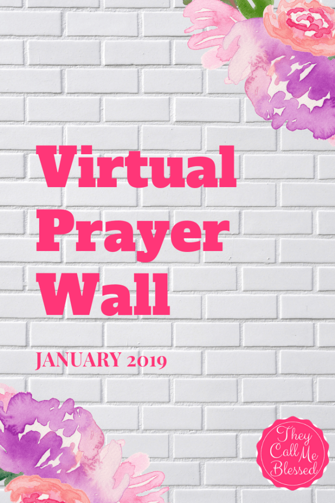 January Virtual Prayer Wall