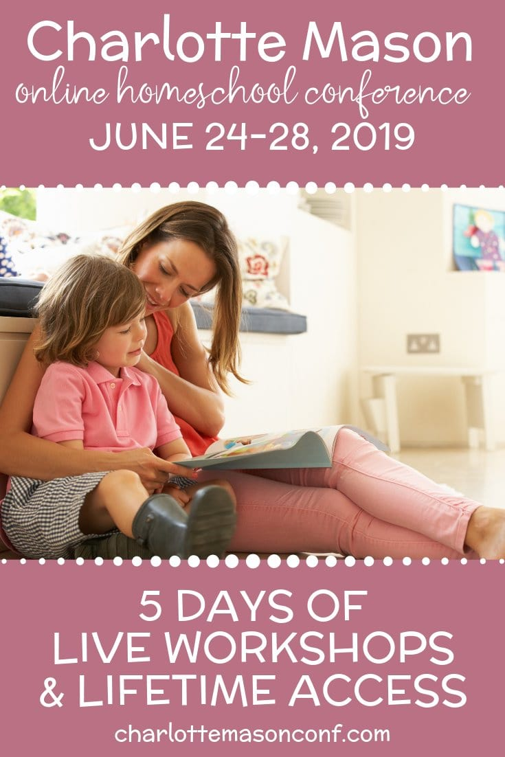 2019 Charlotte Mason Online Conference, June 24-28