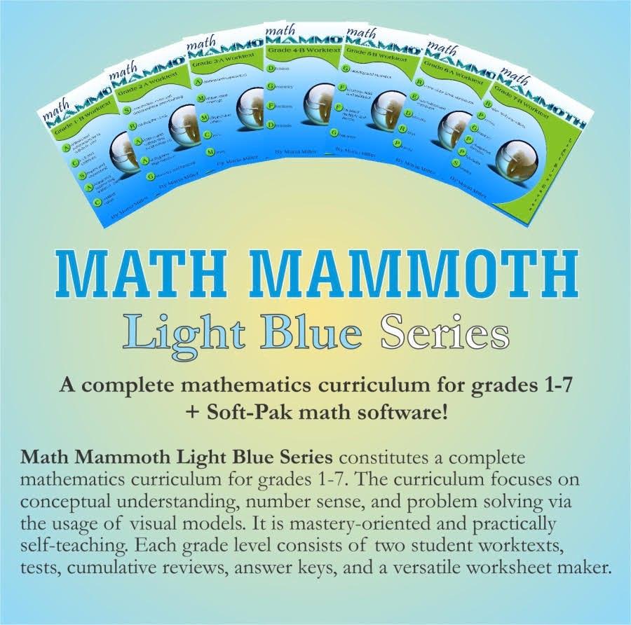 Math Mammoth - Math Homeschool Curriculum