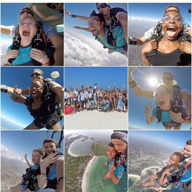 Thank you skydivediani Best thing Ive done yet!  skydivedianihellip