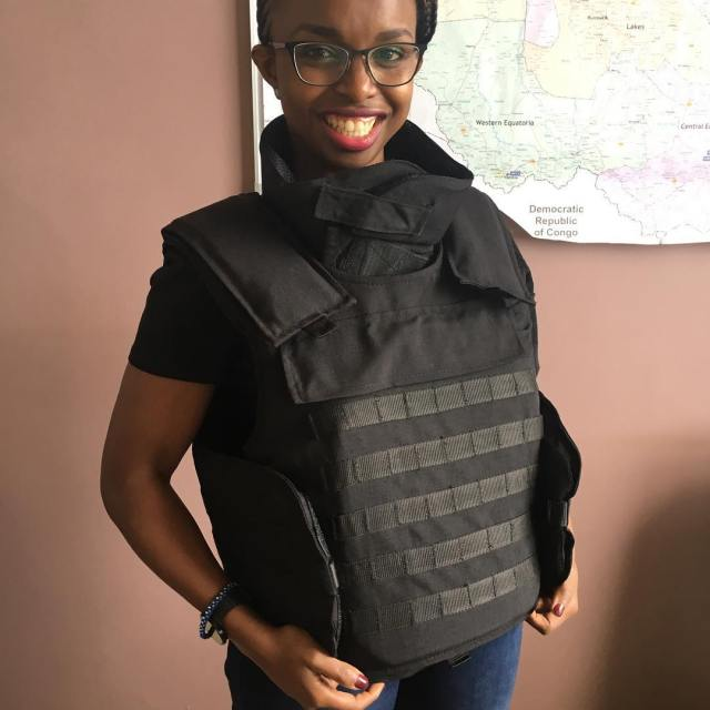 No one tells you that body armour is actually toohellip