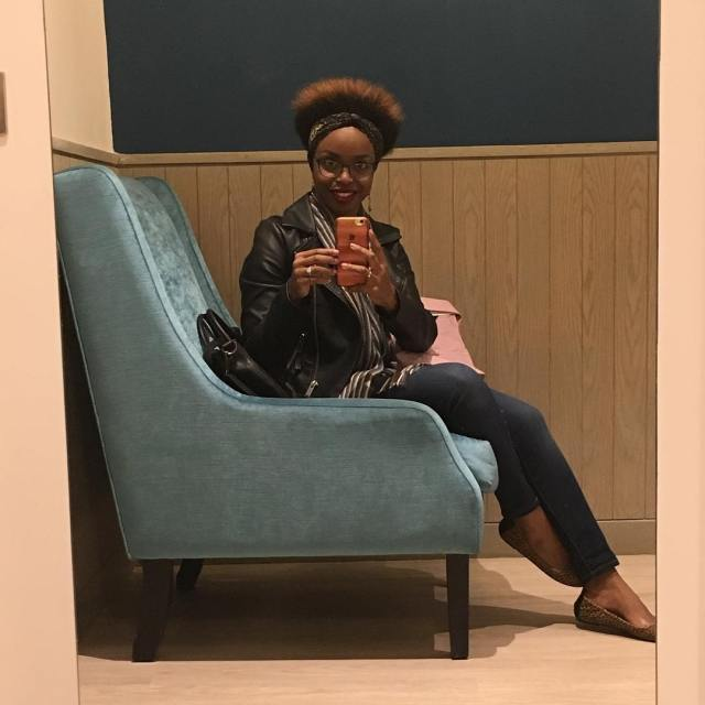 See the fro grow! 6months post BC blackgirlmagic afro bigchopandbeyond
