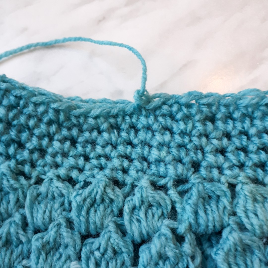 How to crochet ankle warmers