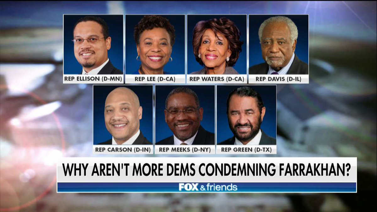 Jewish Group Demands Resignation Of 7 House Democrats Connected To AntiSemite Louis Farrakhan