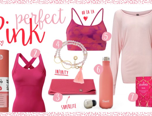 Yogi's Essentials // Perfect pink – colour match