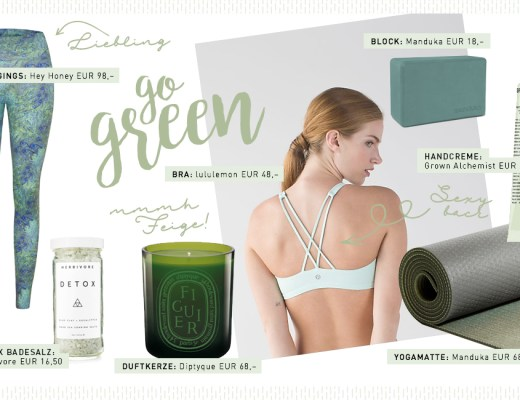 "Yogi's Essentials ""Go green"""