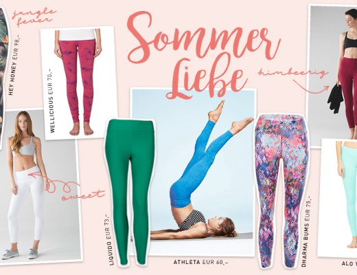 Leggings Love – Sommer – Yoga Leggings - Lieblinge