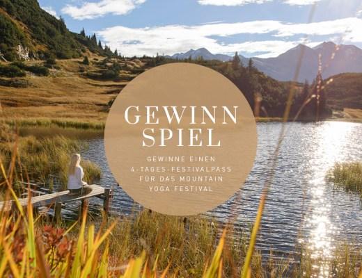 Gewinnspiel Mountain Yoga Festival St. Anton am Arlberg – Tirol – Auszeit – Natur – Stille
