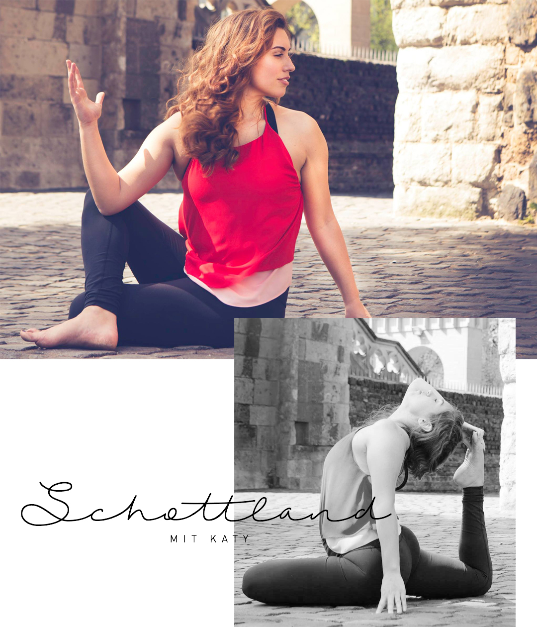 Katy Jane Scherer Yoga Retreat Schottland