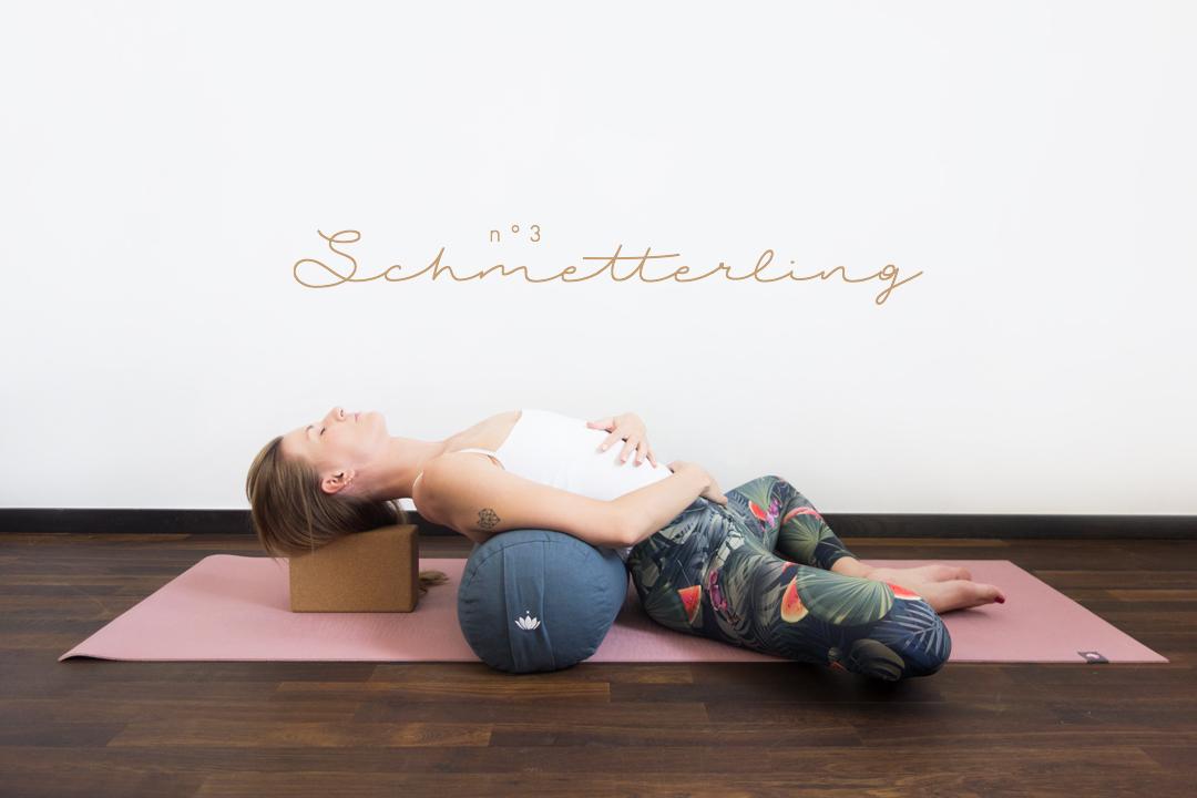 Lotuscrafts – Yin Yoga Special – Yogarolle – Gewinnspiel – Verlosung – Schmetterling