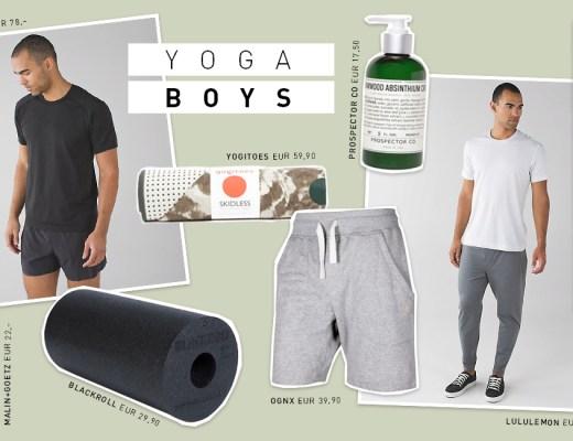 Yogi's Essentials für Männer im September