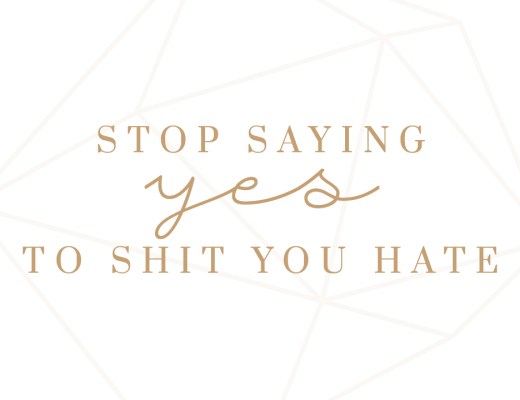 Stop saying yes to things you hate no nein Mantra Montagsmantra Quote Motivation Inspiration