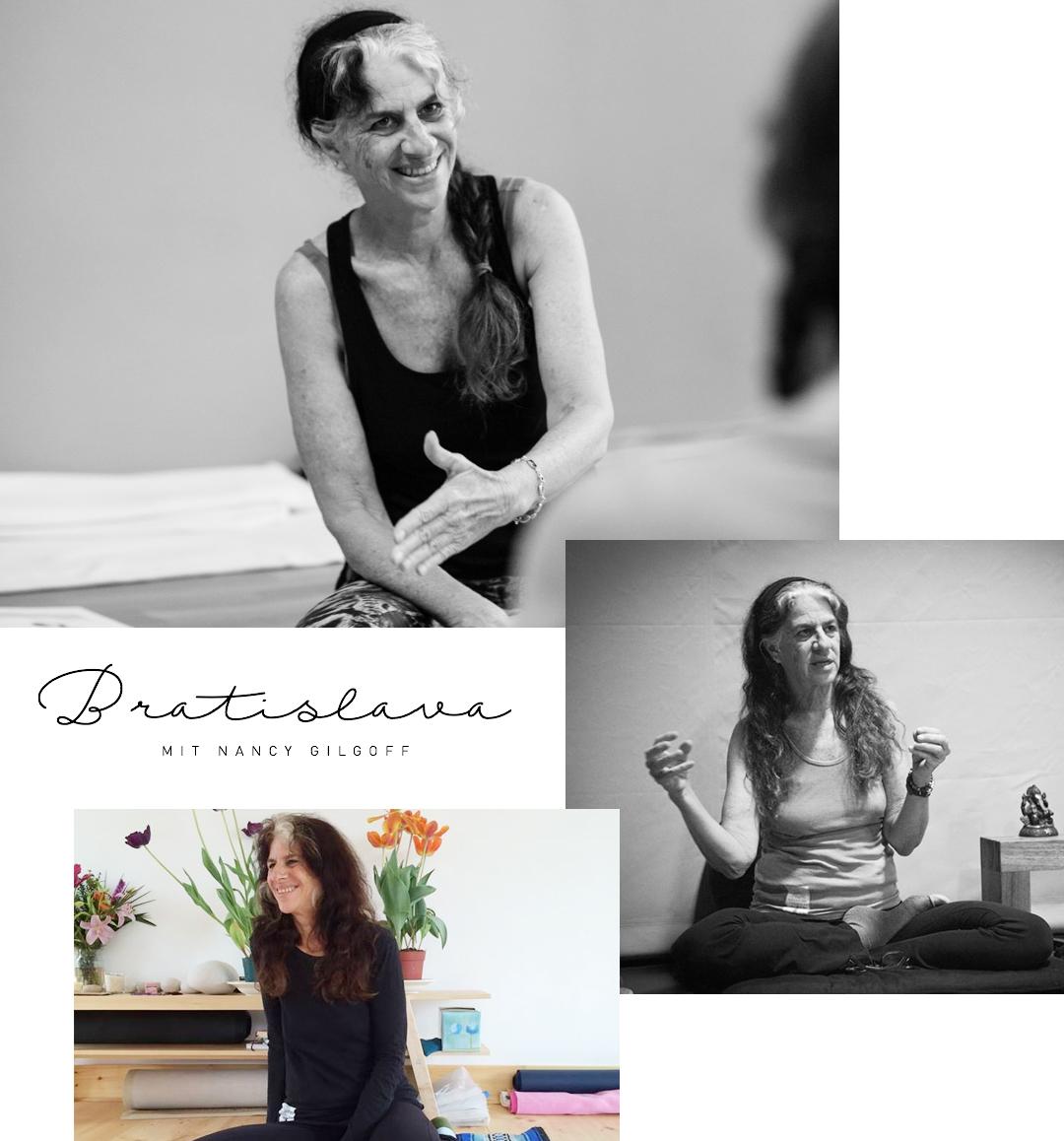 Yogareisen Yogaurlaub Yogaferien Bratislava Nancy Gilgoff Ashtanga