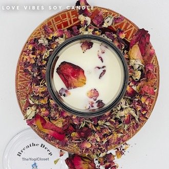 Love Vibes Soy Candles