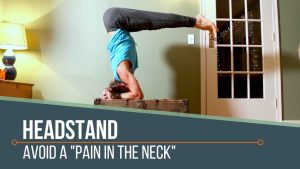 headstand neck