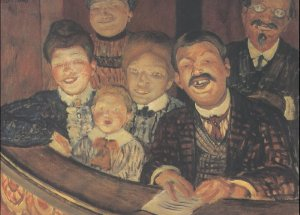 These guys are certainly enjoying going to the theatre. That could be you looking sinisterly pleased this summer.