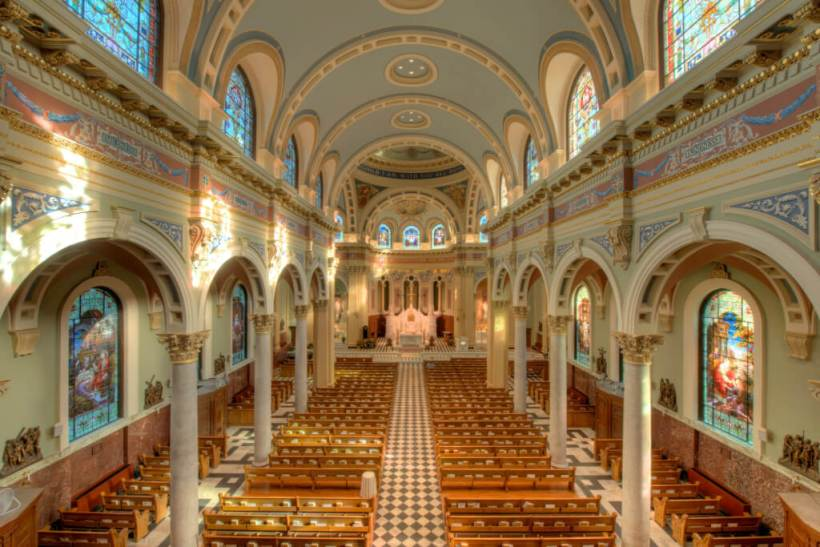 Nave of St. Patrick's Cathedral, Harrisburg