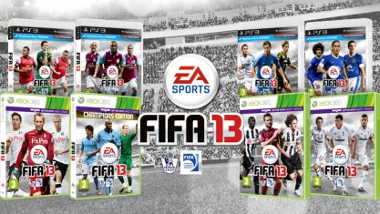 FIFA 13 Replacement Covers