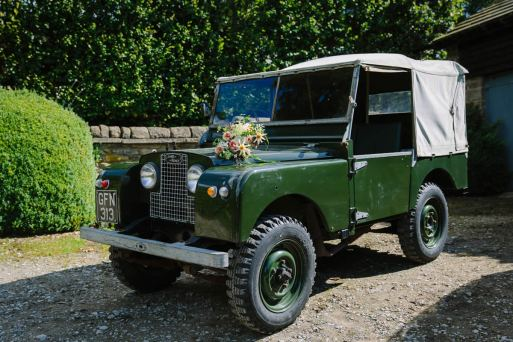 Yorkshire Dales Wedding Car Hire - Land Rover 03