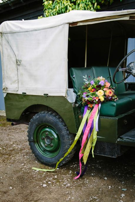 Yorkshire Dales Wedding Car Hire - Land Rover 09